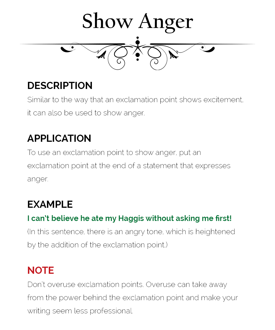 How To Use Exclamation Marks The Visual Communication Guy Designing Information To Engage