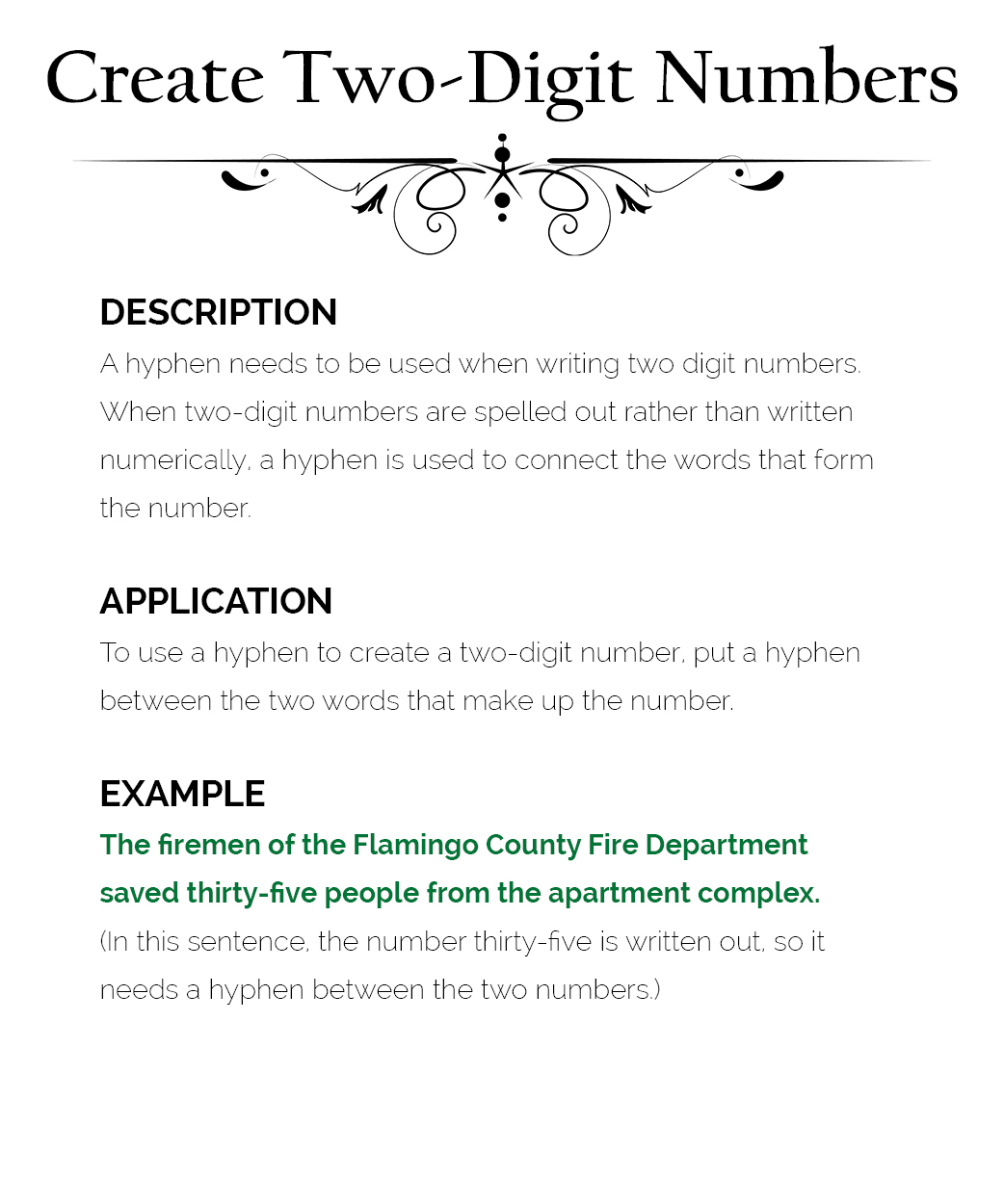 How To Use Hyphens The Visual Communication Guy Designing Information To Engage Educate And