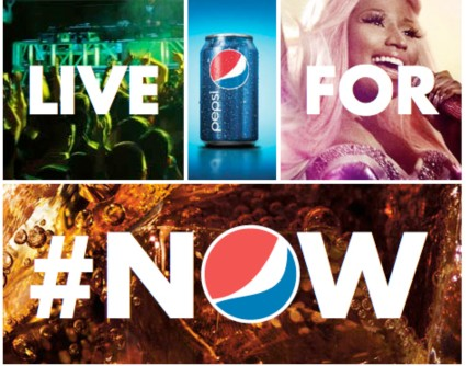 Pepsi's Live for #Now ad