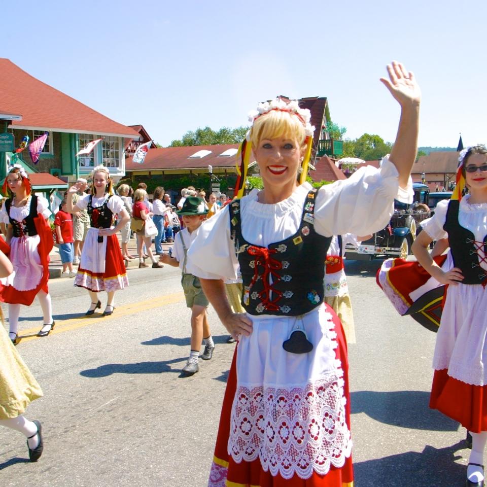 Helen Oktoberfest in Helen
