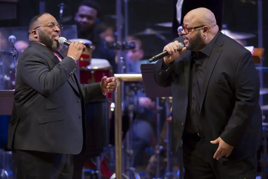 Fred Hammond and Marvin Sapp Cincinnati Gospel Concert