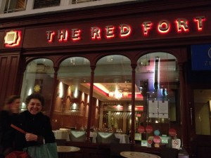 The Red Fort in the Theater district