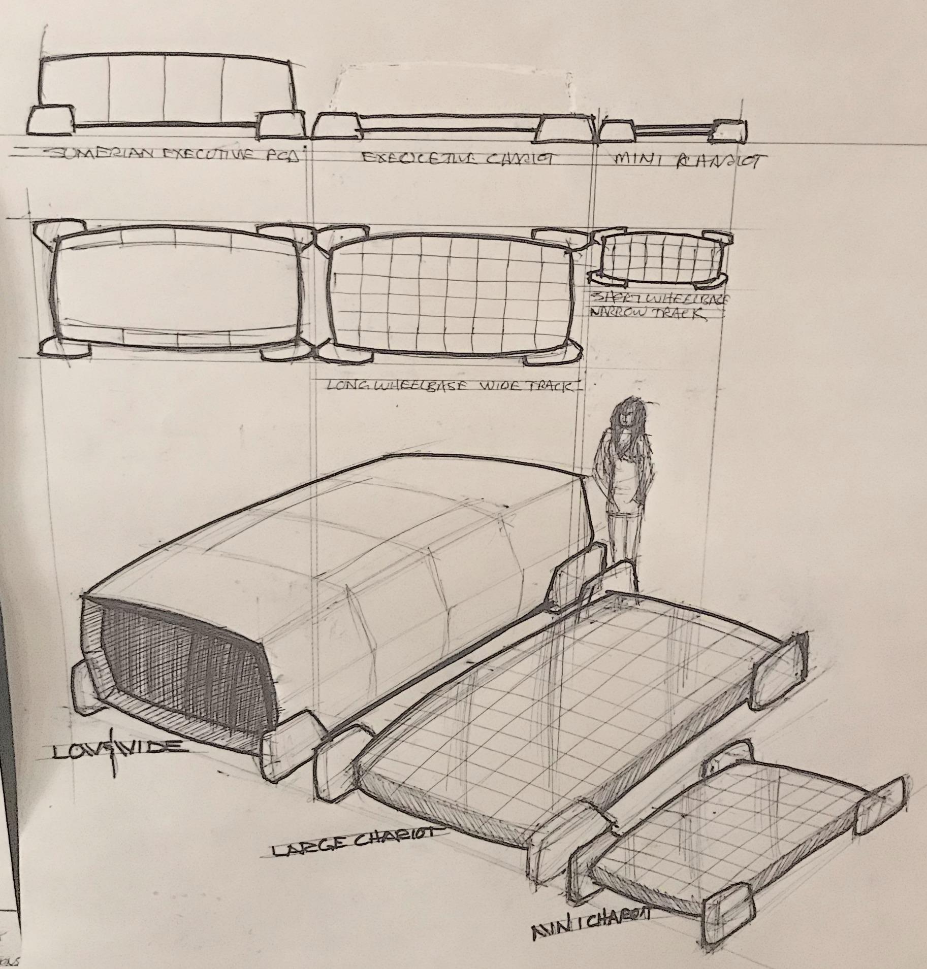 Mike Robinson Drawings