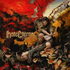 "Hate Eternal, ""Infernus."" Artwork by Eliran Kantor"