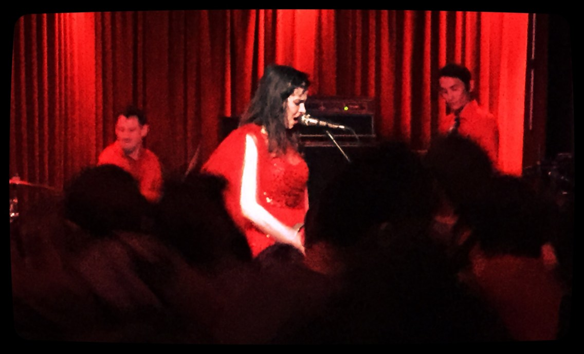 Le Butcherettes Live @ Club Dada, 3/18/16, Photo by J. Kevin Lynch