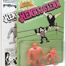 Henry & Glenn Comic, Action Figure