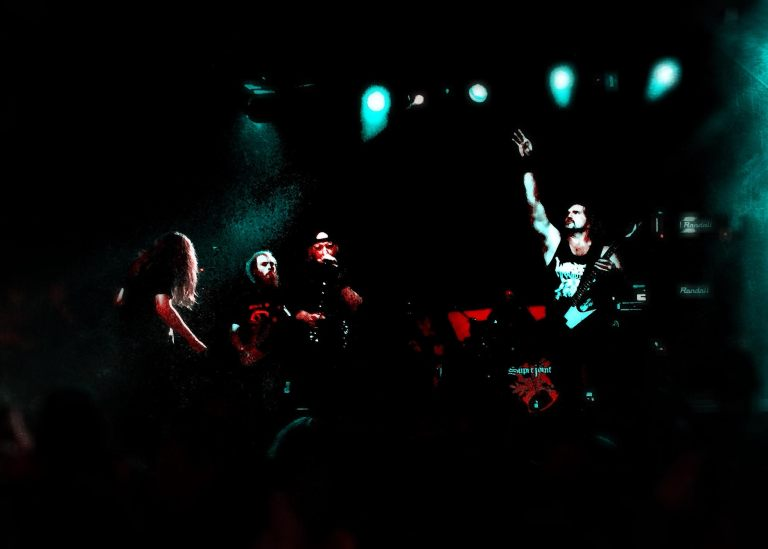 Warbeast, Live at the Rail Club. Photo by J. Kevin Lynch