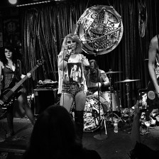 Barb Wire Dolls @ Three Links, Dallas, TX. Photo by J. Kevin Lynch.