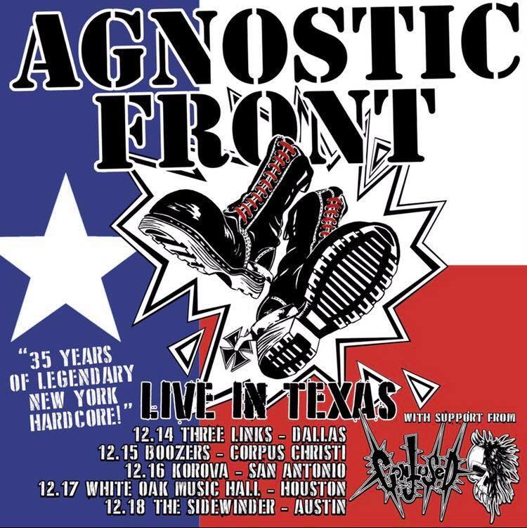 agnostic front texas