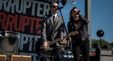 The Interrupters. Photo by Brently Kirksey.
