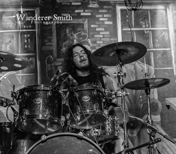 Gruesome Fate @ Wit's End, Dallas,TX. Photo by Corey Smith.