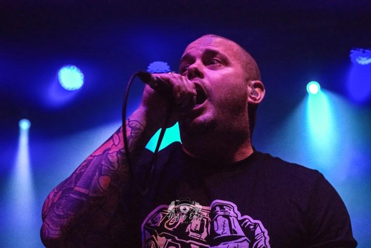Lockjaw @ Ridglea Metal Fest. Photo by Brently Kirksey.