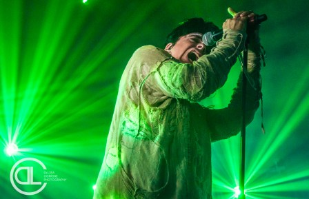 Gary Numan @ Canton Hall, Dallas, TX. Photo by DeLisa McMurray.
