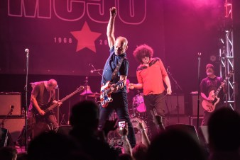 MC50 @ The Granada Theater, Dallas, TX. Photo by Brently Kirksey.