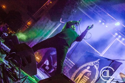 Cattle Decapitation @ Gas Monkey Bar n' Grill. Photo by DeLisa McMurray.