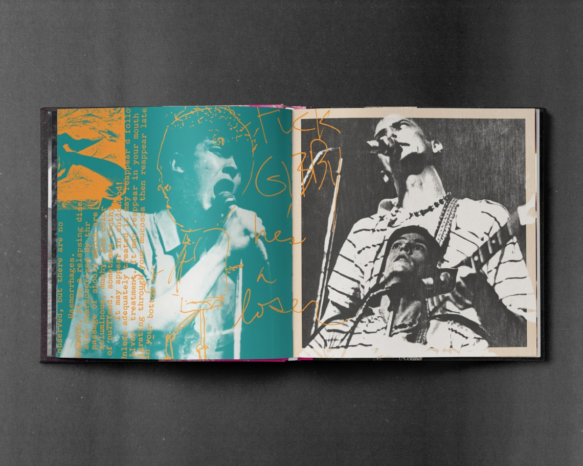 Melodic Virtue - Butthole Surfers Book Spread 1
