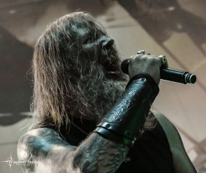 Amon Amarth @ The Pavilion at Toyota Music Factory, Irving, TX. Photo by Corey Smith.