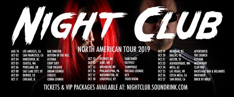 Night Club Tour 2019