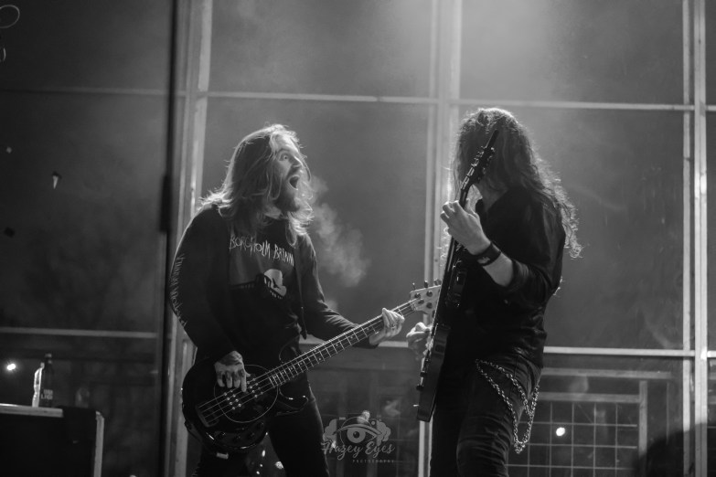 In Flames @ Gas Monkey Bar n' Grill, Dallas, TX. Photo by Brently Kirksey.