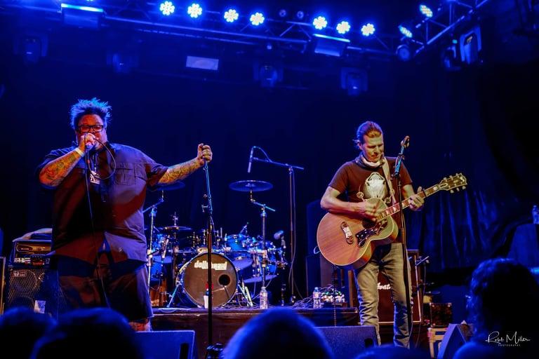 Jaret Reddick & Zac Maloy perform at Trees, Dallas, TX. Photo by Robb Miller.