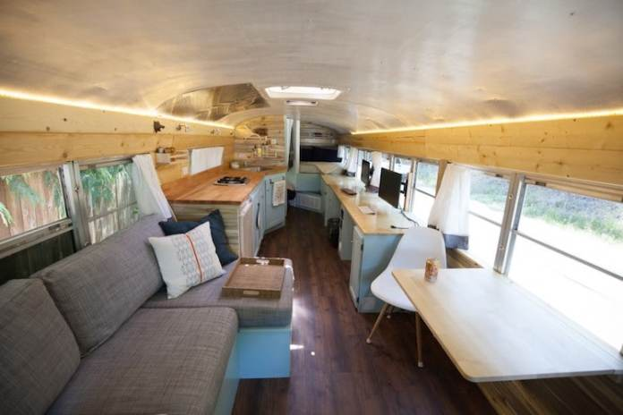 Transformed School Bus