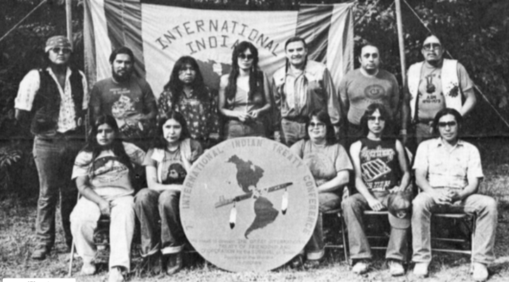 The International Indian Treaty Council, the international arm of the American Indian Movement, was founded at Standing Rock in 1974.