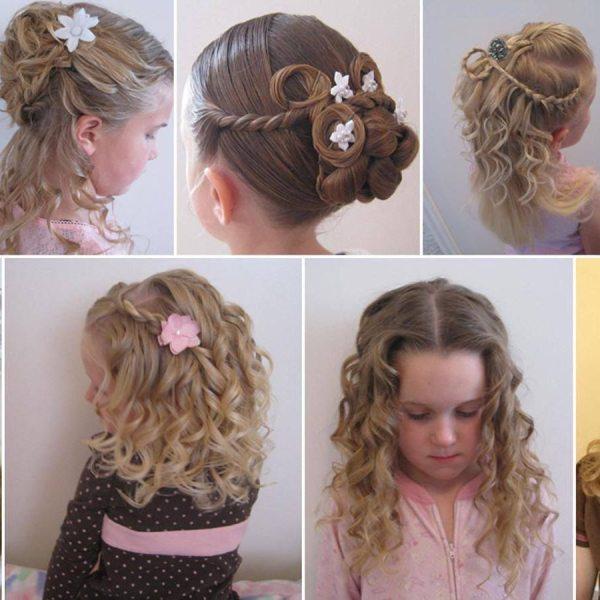 Прически Детские Фото На Длинные Волосы