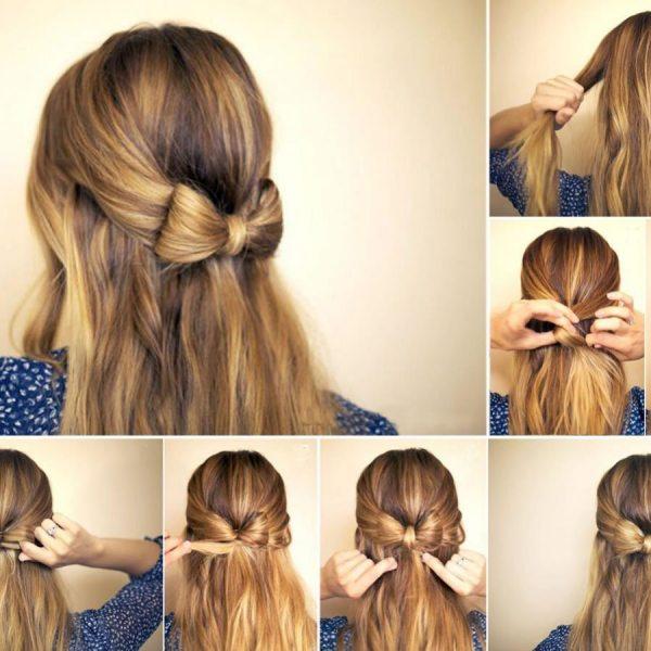 Красивые и простые прически на средние волосы