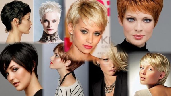 Женские стрижки на короткие волосы (217 фото)