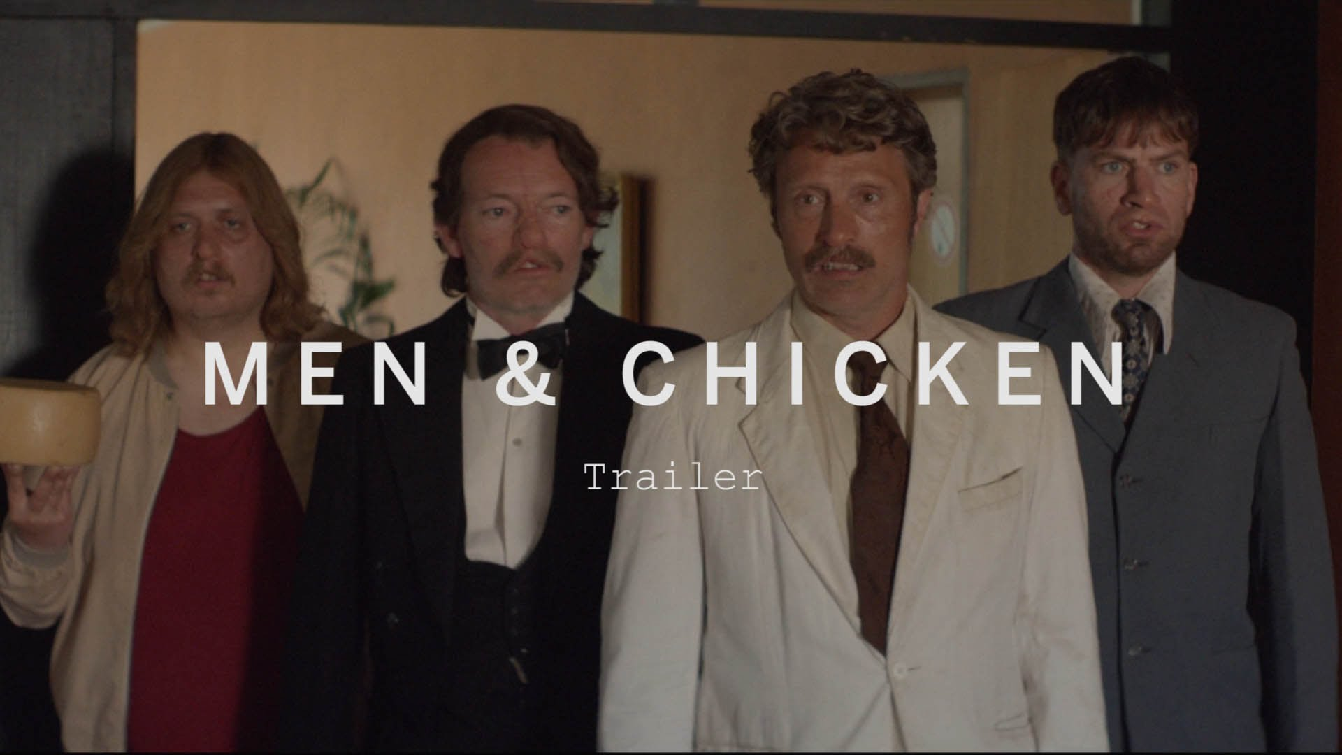 Men & Chicken Trailer