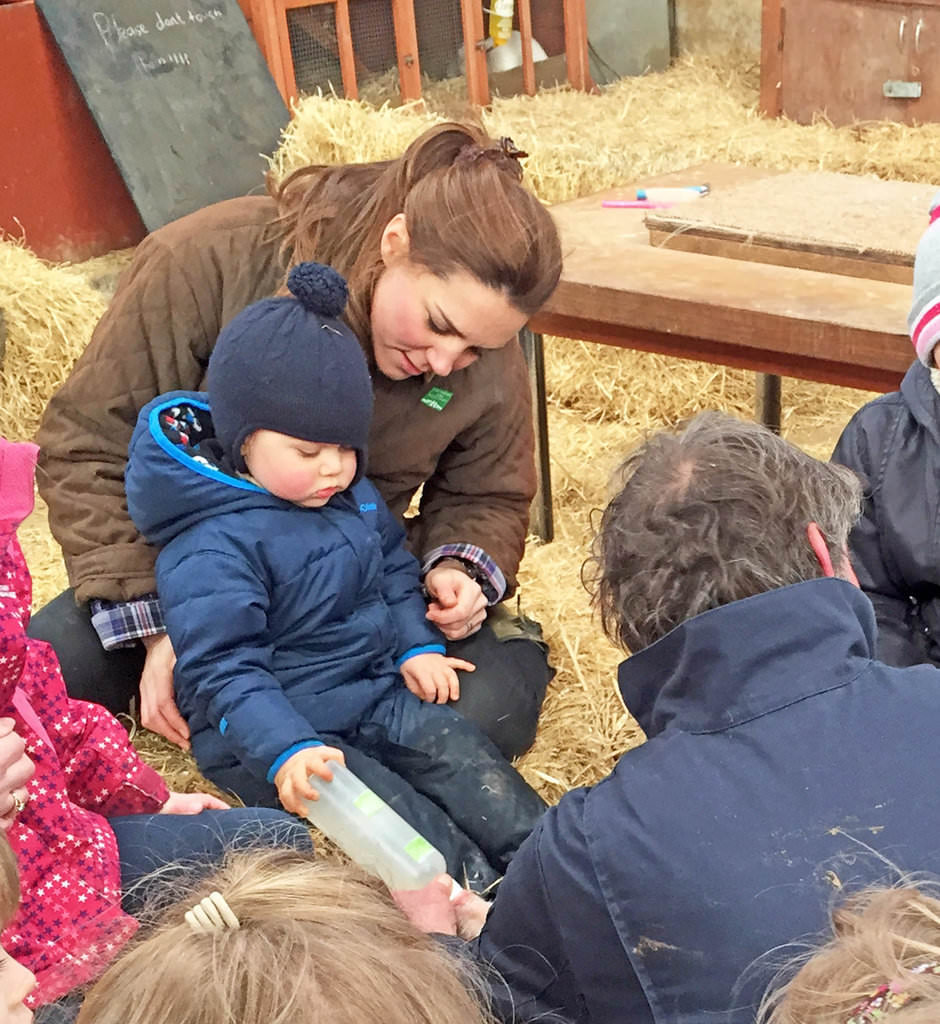 , Kate Middleton and Prince George's Petting Zoo Day is Absolutely Adorable