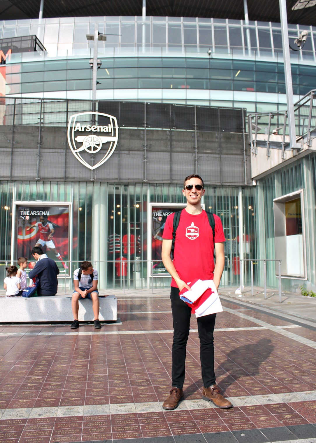 Visiting Emirates Stadium