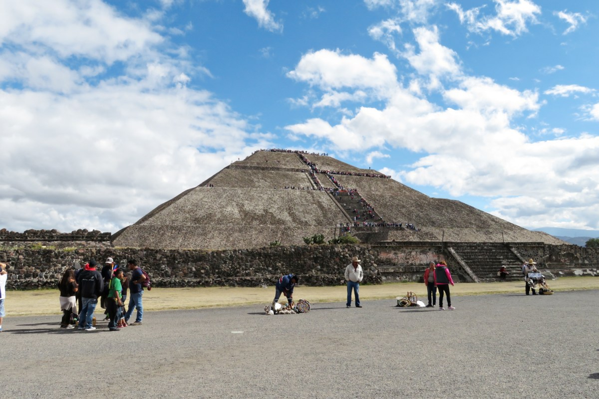 Hiking the Ancient Pyramids at Teotihuacan