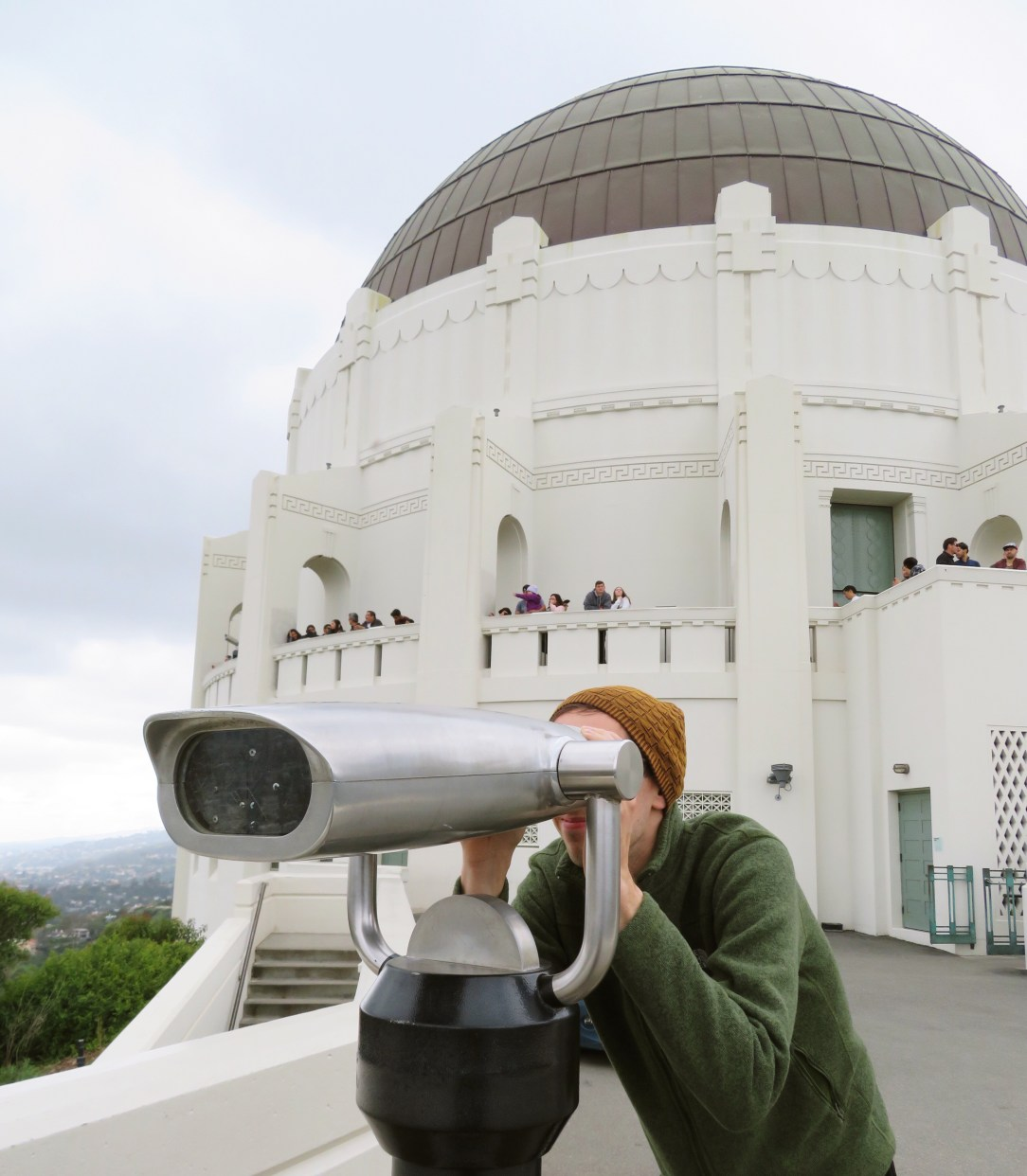 Visiting the Griffith Observatory