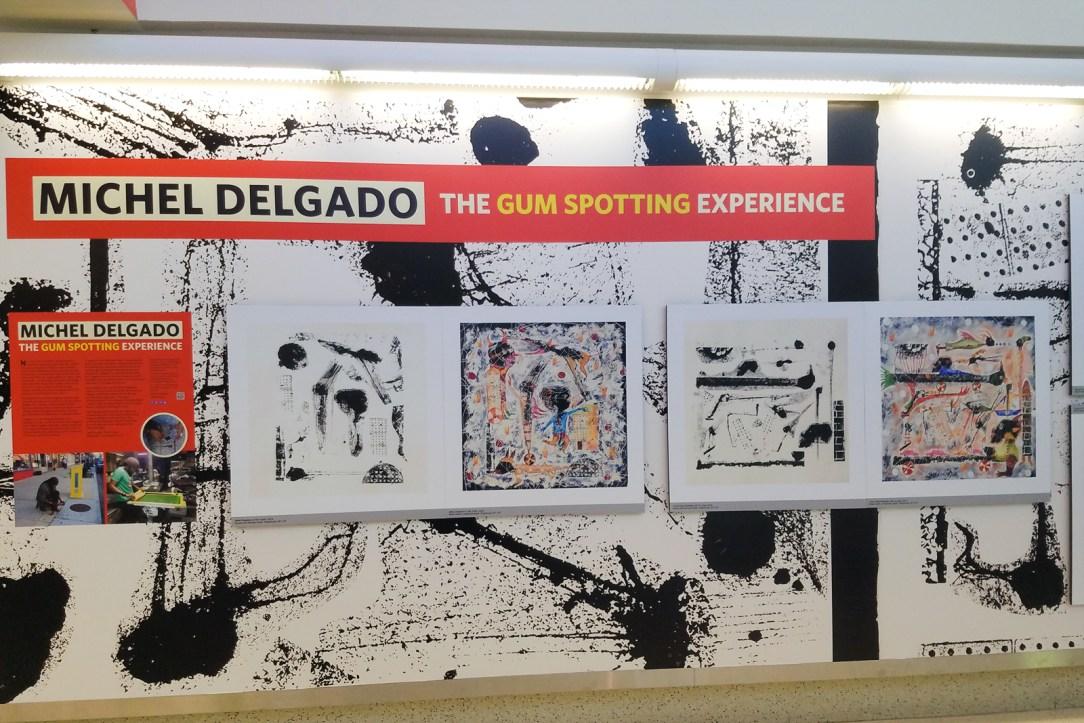 OHare Art Exhibit
