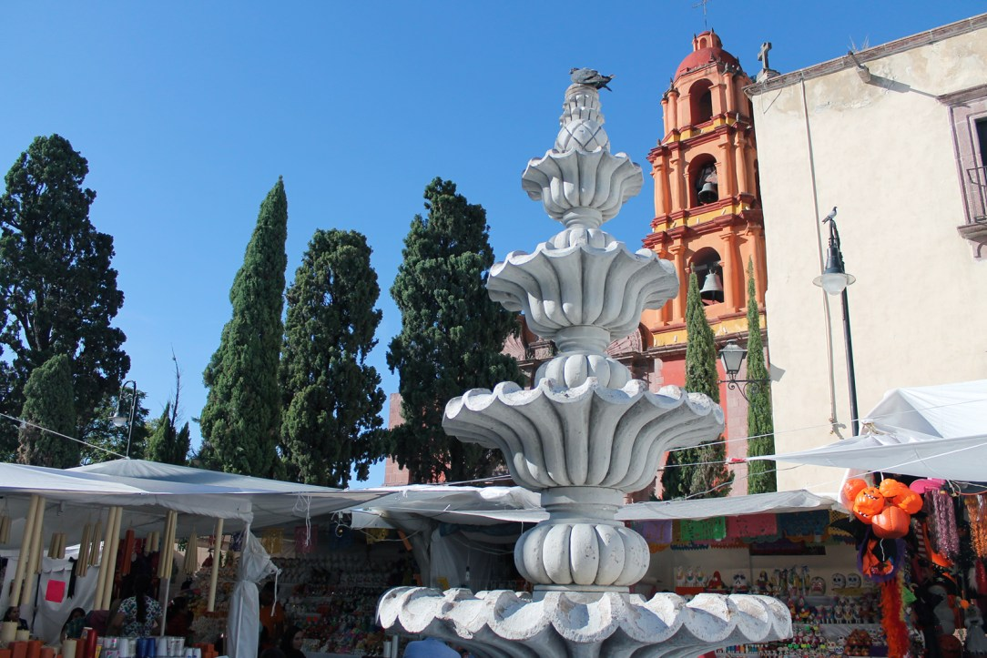 A pretty fountain in San Miguel de Allende