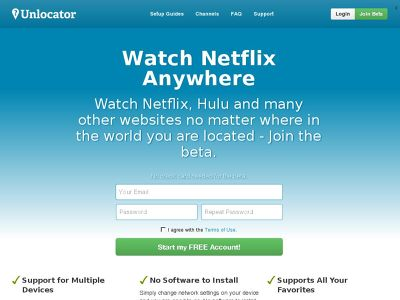 Unlocator Review Performance - A Smart DNS Proxy Tested - The VPN Guru