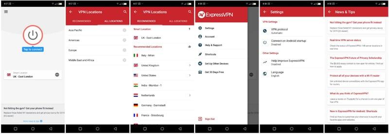 ExpressVPN Android App