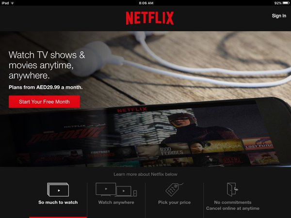 How to Watch American Netflix in UAE (Dubai Abu Dhabi) - The