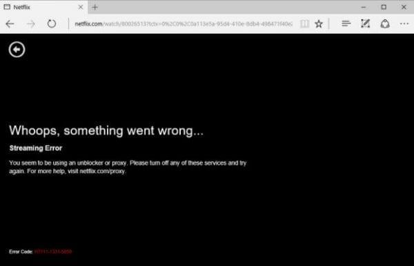Private Internet Access Netflix Blocked Workaround