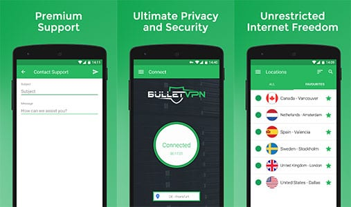 BulletVPN Review - VPN Apps