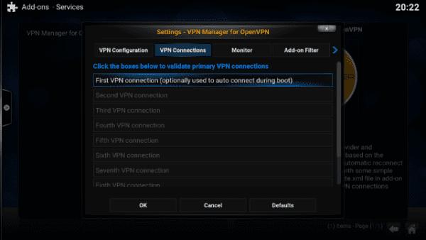 How to Setup VPN Connection on Kodi
