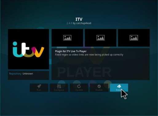 Install ITV