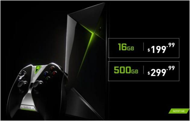 NVIDIA Shield TV vs Shield TV Pro - Price