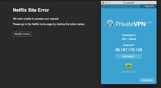 Site Error Private