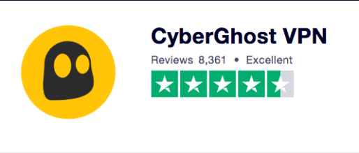 Turstpilot Rating CyberGhost