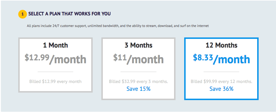 UseMyVPN Pricing Plans and Payments