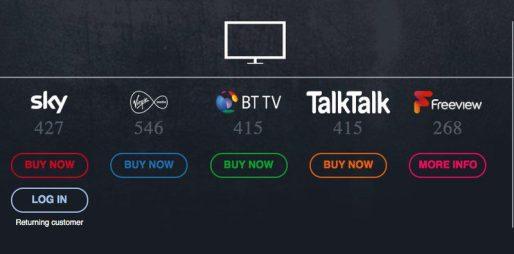 BoxNation TV Providers