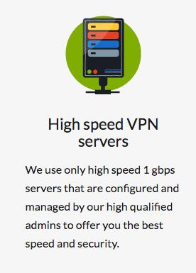 CactusVPN - High Speed Servers