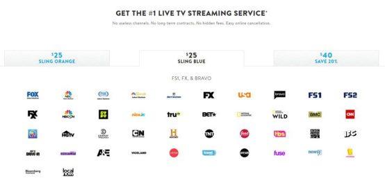 Sling TV Plans